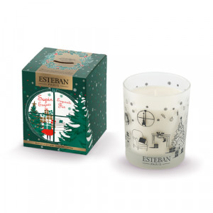Refillable scented candle