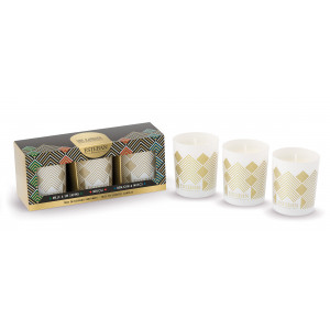 Gift set 3 small scented candle - Collector Edition