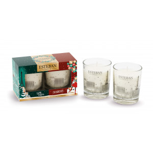 Gift set 3 mini scented candle - Christmas edition