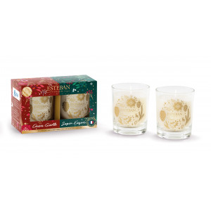 Gift set 2 mini scented candle - Christmas edition